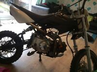 110 cc pitbike crf70 size runs and rides