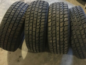 SOLD! Winter Tires! Set of 4. 205/60R15 Cooper Weather-Master