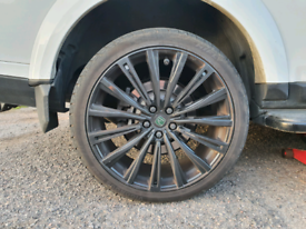 """22"""" range rover, vw t5 and x5 alloys"""