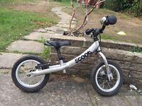 Balance bike, pushchair, bike seat