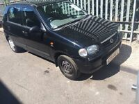 2004 SUZUKI ALTO WITHFULL SERVICE HISTROY AND FULL MOT ***695***