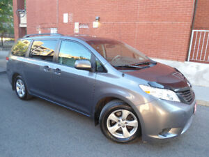 2011 TOYOTA SIENNA , WELL KEPT , (4) LIKE NEW ALL-SEASON TIRES !