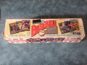 Donruss 1991 Baseball puzzles and cards