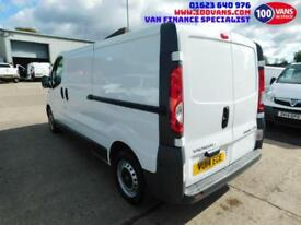 VAUUXHALL VIVARO 2.0CDTi 115ps 2900 LWB FINANCE ARRANGED CALL ANYTIME