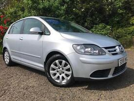 *12 MTHS WARRANTY**2008(58)VW GOLF 1.9 TDI PLUS BLUEMOTION TECH 5DR WITH FSH*