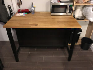 Ikea Bar Table and Tall Chairs!
