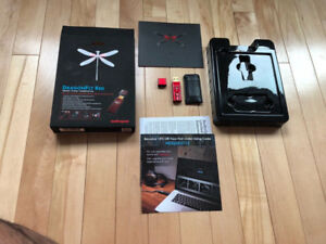 AudioQuest DragonFly Red Headphone Amp DAC with bonus Jitterbug