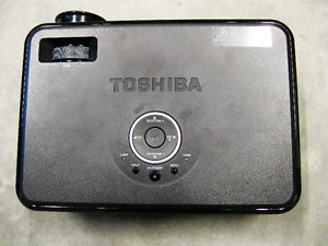 Toshiba DLP Projector, with bag and cables.