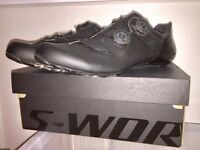 Specialized S Works Road Shoes 44 Matte Black *NEW*