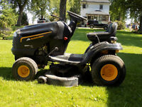 Mccullough Riding Lawnmower