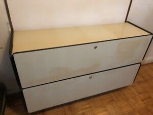 Wall Hung 2 Drawer Lateral Filing Cabinet