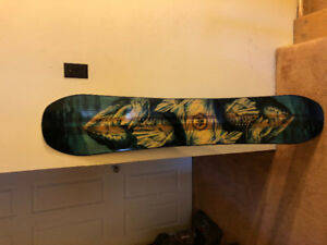Men's Snowboard Jones Mountin Twin 160.