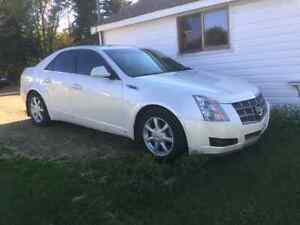 CTS CADILLAC 2008 AWD PEARL WHITE