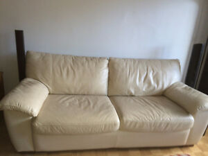 URGENT***leather Sofa bed /Couch, CoffeeTbl, TV unit, Dressers..
