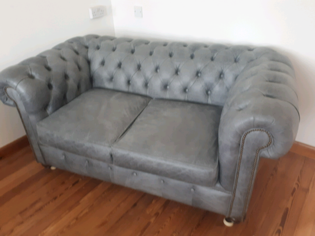 79ab507cb77 Chesterfield 2 seater leather couch | in Bridge of Don, Aberdeen ...