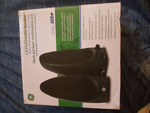 General Electric USB Powered Speakers new condition