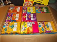 RARE HUGE BOX 135 GOOFY GAGS AS SEEN ON TV PRANKS JOKES