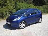 2011 Honda Jazz 1.4 ES 5 doors petrol manual in blue
