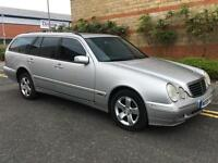 Mercedes-Benz E240 2.4 auto 2000MY Avantgarde 7 SEATER