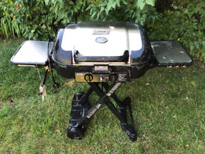 Coleman stainless steel portable propane camping BBQ