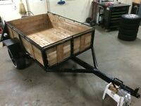 Restored vintage trailer  4ftx6ft