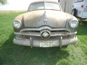 ** BARN FIND **  1950 Ford Sedan