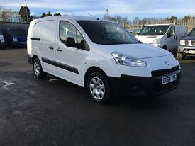 Peugeot Partner 1.6 HDi S L2 Crew Van 4dr (white) 2014