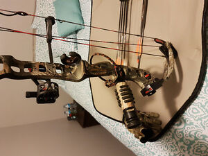 Compound bow with everything you could need