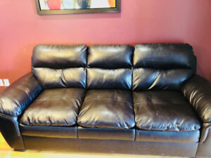 Brown  - Sofa and Love Seat for sale