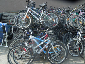 used mountain bikes for export