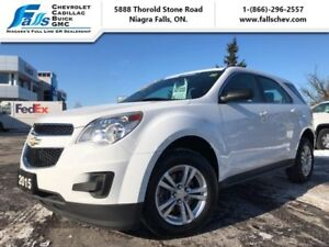 """2015 Chevrolet Equinox LS  17""""ALLOYS,BLUETOOTH,ONE OWNER"""