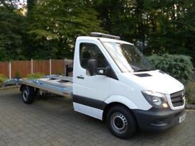 2014 14 REG Mercedes-Benz Sprinter 313 CDi LWB Car Transporter - NEW SHAPE