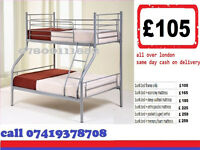 A ONE TRIO SLEEPER BUNK BED WITH Mattresses