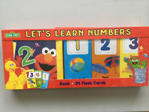Sesame counting books