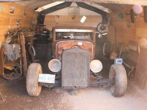 1931 CHEVY 5 WINDOW COUPE HOT ROD/RAT ROD PROJECT $3500 SOLD