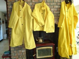 total for 3 raincoats - 100.00