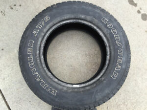 Set of Goodyear Tires 18""