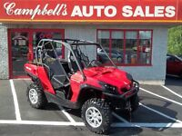 REDUCED!! 2014 CAN-AM COMMANDER 1000 XT DPS FACTORY WARRANTY