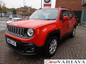 2016 Jeep Renegade LONGITUDE Petrol red Manual