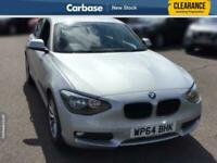 2014 BMW 1 Series 116d EfficientDynamics 5dr HATCHBACK Diesel Manual