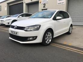 Volkswagen VW Polo White 1.2 2012 Match ***Only 10,000 Miles***