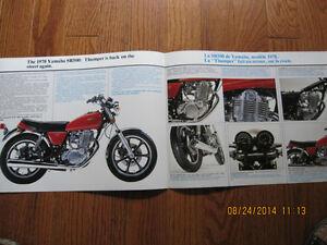 1978 Yamaha SR500 Sarnia Sarnia Area image 2