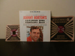 Johnny Horton Rare 78 RPM Record The Battle of New Orleans 3