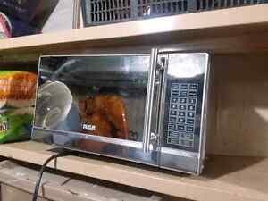 RCA Stainless steel with Mirrored Door Microwave Kitchener / Waterloo Kitchener Area image 1