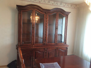 Cherry Wood display cabinet for sale