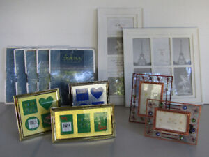 Variety of home decor and storage items