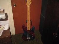 Series A bass guitar