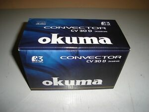 OKUMA CV 30 D CONVECTOR REEL - NEW IN BOX !!!