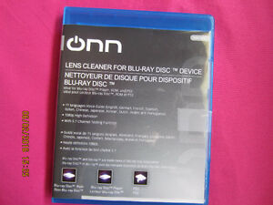 ONN Blu-Ray Player HD Lens Cleaner for PS3,PS4, Xbox 360 BluRay