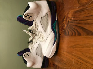 Jordan White Grape 5's